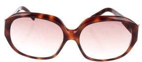 MICHAEL Michael Kors Tortoiseshell Logo Sunglasses