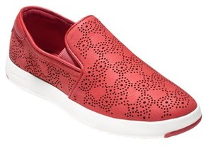Cole Haan Women's Grandpro Perforated Slip-On Sneaker