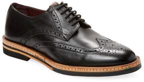 Ben Sherman Men's Julius Wingtip Leather Derby Shoe