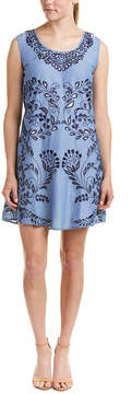 Kas Lotus Cut-Out Shift Dress