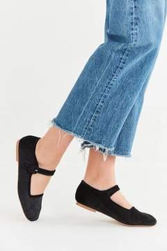 Urban Outfitters Velvet Mary Jane Flat