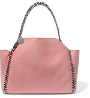 Stella McCartney The Falabella Medium Reversible Faux Brushed-leather Tote - Blush