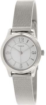 Timex Classic T2P457 Silver Analog Quartz Women's Watch