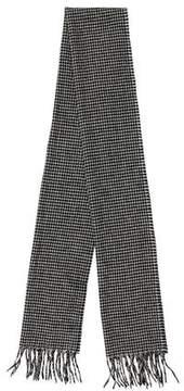Max Mara Houndstooth Wool Scarf w/ Tags