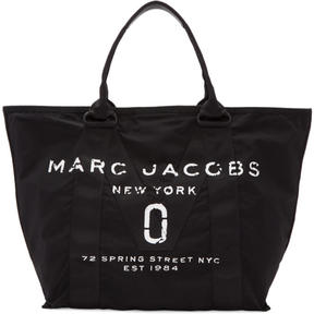 Marc Jacobs Black New Logo Tote - BLACK - STYLE