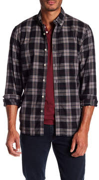 Joe's Jeans Jimmy Long Sleeve Herringbone Woven Shirt