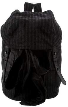 Alexander Wang Sydney Striped Backpack