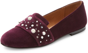 French Sole Women's Lapis Leather Loafer