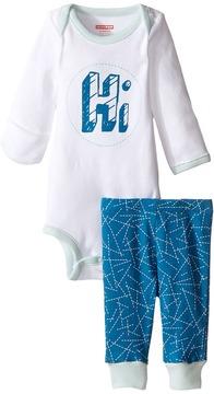 Skip Hop Baby Says Long Sleeve Bodysuit & Pants (Infant)