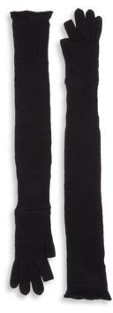 Rick Owens Long Alpaca Glove