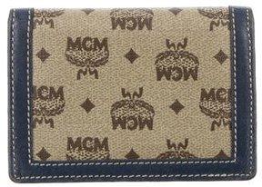 MCM Multicolor Visetos Cardholder