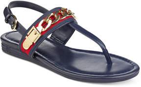Tommy Hilfiger Hakim Flat Thong Sandals Women's Shoes