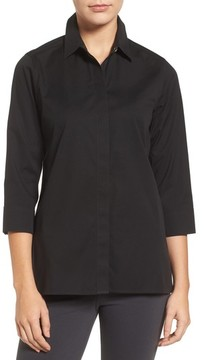 Foxcroft Women's Gigi Stretch Cotton Tunic