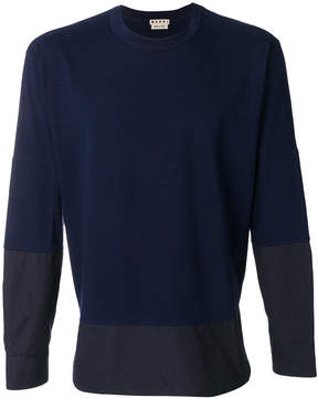 Marni panelled jumper