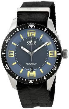 Oris Diver Sixty Five Grey/Blue Dial Men's Watch