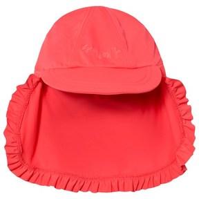 Seafolly Pink Sweet Summer Beach Flyer UPF 50+ Hat