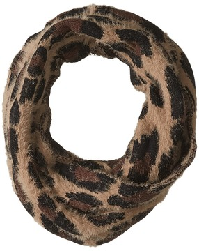 Collection XIIX Eyelash Leopard Loop Scarves