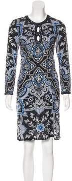 Calypso Printed Mini Dress