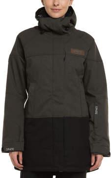 Dakine Women's Sidney Grey & Black Hooded Jacket