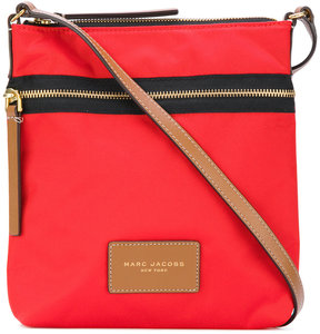 Marc Jacobs top zip messenger bag - RED - STYLE