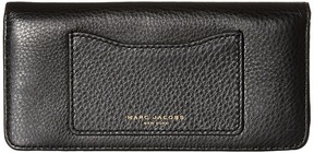 Marc Jacobs Recruit Open Face Wallet Wallet Handbags - BLACK - STYLE
