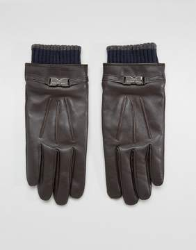 Ted Baker Quiff Gloves in Leather