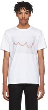 A.P.C. White Serpentin T-Shirt