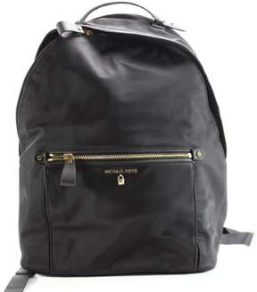 Michael Kors Black Kelsey Large Nylon Backpack Handbag Purse - BLACKS - STYLE