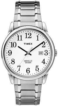 Timex Men's Easy Reader Expansion Band Watch - Silver TW2P81300JT