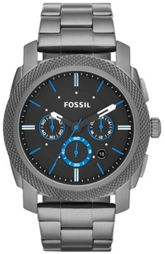 Fossil Men's 'Machine' Chronograph Bracelet Watch, 45Mm