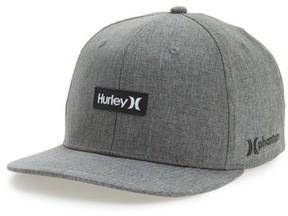 Hurley Men's Phantom One & Only Snapback Baseball Cap - Black