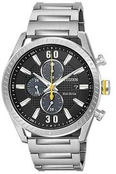 Citizen CTO Black Dial Men's Chronograph Watch CA0660-54E