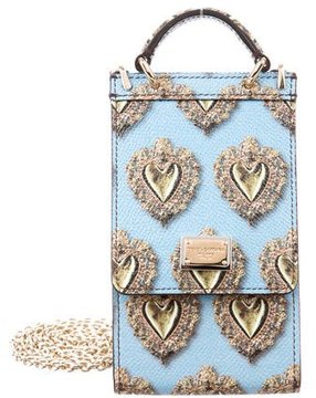 Dolce & Gabbana Dauphine St. Mini Bag w/ Tags - BLUE - STYLE