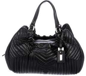 Max Mara Quilted Leather Shoulder Bag