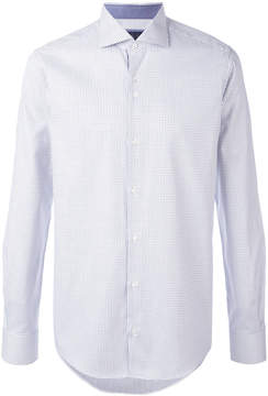 Pal Zileri fine print shirt