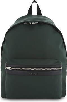 Saint Laurent City nylon backpack