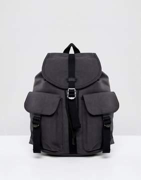 Herschel Cotton Canvas Dawson Backpack in Gray