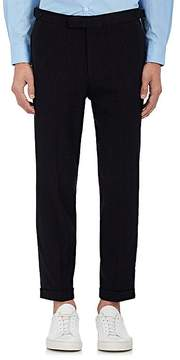 TOMORROWLAND Men's Chalk-Striped Wool-Silk Trousers