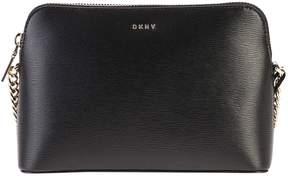 DKNY Black Zipped Shoulder Bag