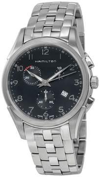 Hamilton Jazzmaster Thinline Chrono Black Dial Men's Watch