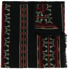 Valentino Navajo jacquard scarf