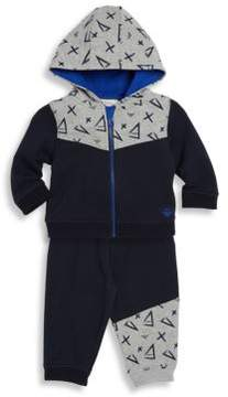 Armani Junior Baby's Printed Jogger set