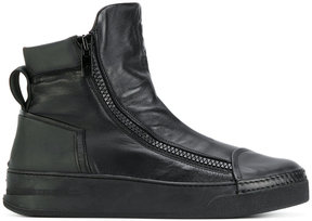 Bruno Bordese hi-top zip up sneakers