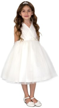 Us Angels Toddler Girl's Pleated Dress