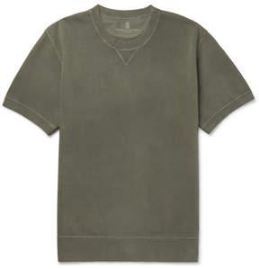 Brunello Cucinelli Garment-Dyed Loopback Cotton-Jersey Sweatshirt