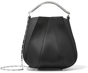 Eddie Borgo - Pepper Leather Bucket Bag - Black