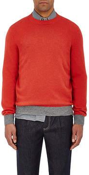 Brunello Cucinelli Men's Tipped-Hem Cashmere Sweater