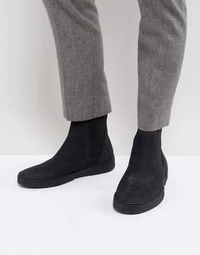Zign Shoes Suede Sneaker Chelsea Boots