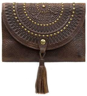 Patricia Nash Studded Washed Colli Flap Wallet