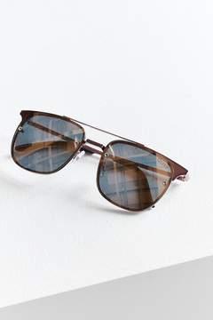 Quay Private Eyes Aviator Sunglasses
